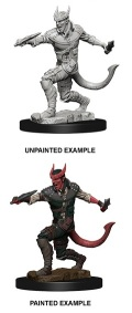 D&D Nolzur's Marvelous Minis - Tiefling Male Rogue 2