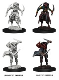 D&D Nolzur's Marvelous Minis - Tiefling Female Rogues (2)