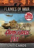 Flames of War - British Armoured Fist Unit Cards (39)