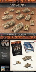 15mm WW2 British CHURCHILL'S KINGFORCE Army Deal