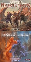 MISTFALL: HEART OF THE MISTS + SAND & SNOW Expansion (1-4)