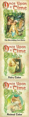 ONCE UPON A TIME 3rd Ed. Card Game (2-6) + ENCHANTING TALES + KNIGHTLY TALES + FAIRY TALES