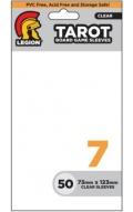 KÁRTYAVÉDŐ / DECK PROTECTORS - Board Game Sleeves - Legion - Tarot Size (73x123mm) (50)