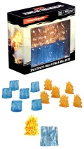 D&D Miniatures – Spell Effects - Wall of Fire & Wall of Ice