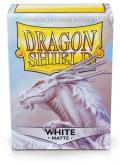 KÁRTYAVÉDŐ / DECK PROTECTORS - Dragon Shield Matte Sleeves White - Bounteous (100)