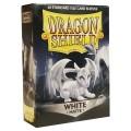 KÁRTYAVÉDŐ / DECK PROTECTORS - Dragon Shield Matte Sleeves White (60)