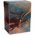 KÁRTYATARTÓ DOBOZ / DECK BOX - Dragon Shield Deck Shell - Art Crimson - Logi Ltd. Ed.