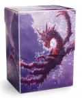 KÁRTYATARTÓ DOBOZ / DECK BOX - Dragon Shield Deck Shell - Art Clear Purple - Racan Ltd. Ed.