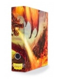 DOSSZIÉ / CARD ALBUM - Dragon Shield Slipcase Binder - Red - Char