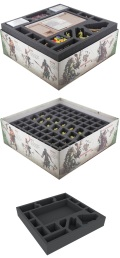 Zombicide - Feldherr Foam Tray Set for Zombicide: Green Horde Core Box
