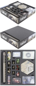 Fallout - Feldherr Foam Tray Value Set for Fallout Board Game Box