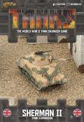 15mm WW2 - TANKS! - British Sherman II Tank Expansion