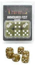 TANKS! - Dice - British 8th Armoured Fist Dice Set (6)