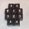 10d6 tömör fekete / 10d6 Solid Black 16mm