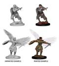D&D Nolzur's Marvelous Minis - Aasimar Male Fighters (2)