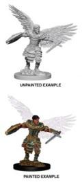 D&D Nolzur's Marvelous Minis - Aasimar Male Fighter 2