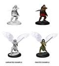 D&D Nolzur's Marvelous Minis - Aasimar Female Fighters (2)