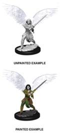 D&D Nolzur's Marvelous Minis - Aasimar Female Fighter 2