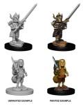D&D Nolzur's Marvelous Minis - Male Halfling Fighters (2)