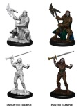 D&D Nolzur's Marvelous Minis - Half-Orc Female Fighters (2)