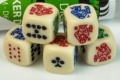 5d6 pókerkocka / 5d6 16mm Poker Dice Set