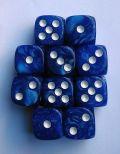 10d6 12 mm gyöngyház kék / 10d6 12mm Pearl Blue