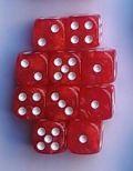 10d6 12 mm gyöngyház piros / 10d6 12mm Pearl Red