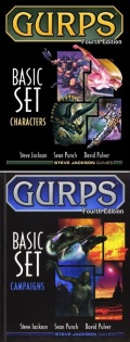 GURPS 4th Edition - BASIC SET: CHARACTERS + CAMPAIGNS