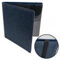 12-PKT PORTFOLIO - Blackfire 12-Pocket Premium Album Blue