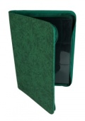 9-PKT PORTFOLIO - Blackfire 9-Pocket Premium Zip-Album Green