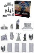 D&D Miniatures - Icons of the Realms - Waterdeep - Dragon Heist - CITY OF THE DEAD STATUES & MONUMEN