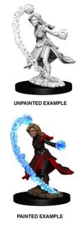 Pathfinder Deep Cuts - Female Human Wizard 1