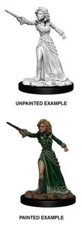 Pathfinder Deep Cuts - Female Human Wizard 2