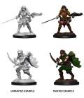 Pathfinder Deep Cuts - Half-Elf Female Rangers (2)