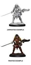 Pathfinder Deep Cuts - Female Half-Elf Ranger 1