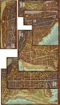 D&D - WATERDEEP - DRAGON HEIST MAP SET
