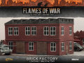 15mm WW2 Scenery - Brick Factory (2 floors plus roof)