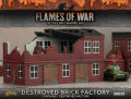 15mm WW2 Scenery - Destroyed Brick Factory