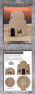 28mm Scenery - Galactic Warzones Desert Tower