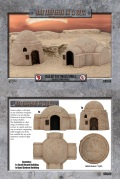 28mm Scenery - Galactic Warzones Desert Buildings (2)