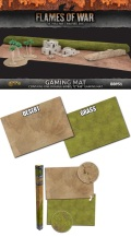 15mm WW2 - Game Mat - Grassland/Desert Gaming Mat