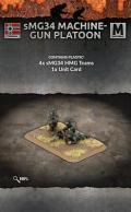 15mm WW2 German MG34 Machine-gun Platoon (4 teams) (Plastic)