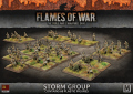 15mm WW2 Russian Storm Group (70 figs) (Plastic)