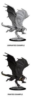 D&D Nolzur's Marvelous Minis - Young Black Dragon (1)