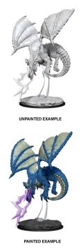 D&D Nolzur's Marvelous Minis - Young Blue Dragon (1)