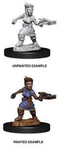 Pathfinder Deep Cuts - Female Halfling Rogue 1