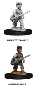Pathfinder Deep Cuts - Halfling Female Rogue 2