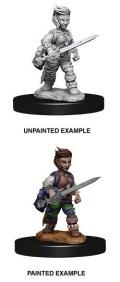 Pathfinder Deep Cuts - Female Halfling Rogue 2