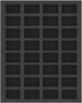 Warhammer - Feldherr FS040WH23 40 mm Foam Tray for Warhammer - 32 Compartments