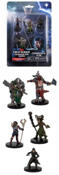 D&D Miniatures - Icons of the Realms - GUILDMASTERS' GUIDE TO RAVNICA Starter Set #1 (5)